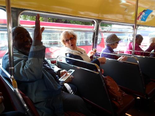 SPC members on a bus