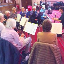 Camberwell Recorder Players @ Southwark Pensioners' Centre